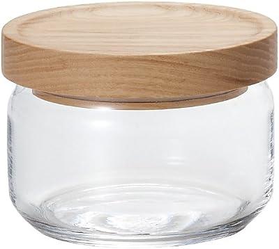 アデリア ガラス 保存容器 360ml スタックストック S M-6254