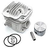 P SeekPro Kit de pistón de Cilindro de 45 mm para Oleo-Mac 952 952 Master Efco 152 Motosierra PN 50082012E 50082012 50070047a 50082012B