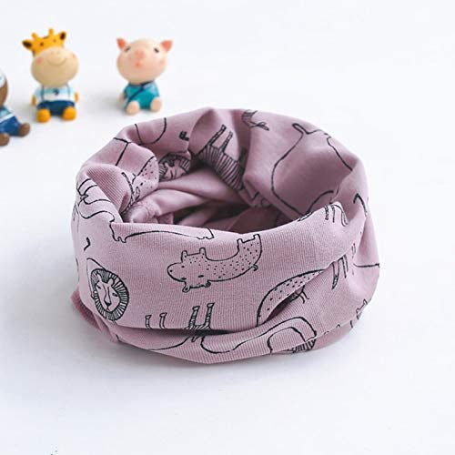 XIAOQIU Fresno Mall Scarf Autumn Winter Children We OFFer at cheap prices Baby Carto Girls Boys