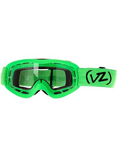 Von Zipper Flash-Lime Satin-Clear 2016 Sizzle MX Goggle