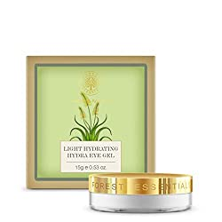 Forest Essentials Light Hydrating Hydra Eye Gel is enriched with cucumber, Katak, Aloe Vera and Rosewater, it provides essential nourishment to the sensitive skin under the eyes and helps lighten the dark circles.Click to read a curated list of 8 Ayurvedic beauty brands you should know for natural and loving touch with Ayurvedic care #ayurvedicaskincare #ayurvedicaskincarefaces ##ayurvedicaskincareproducts #antiagingskincareproducts