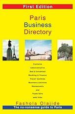 Image of Paris Business Directory:. Brand catalog list of iUniverse.