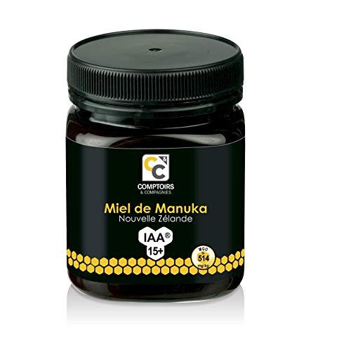 Comptoirs & Compagnies  - Miel de Manuka, IAA 15+, Nueva Zelanda, 250 gr