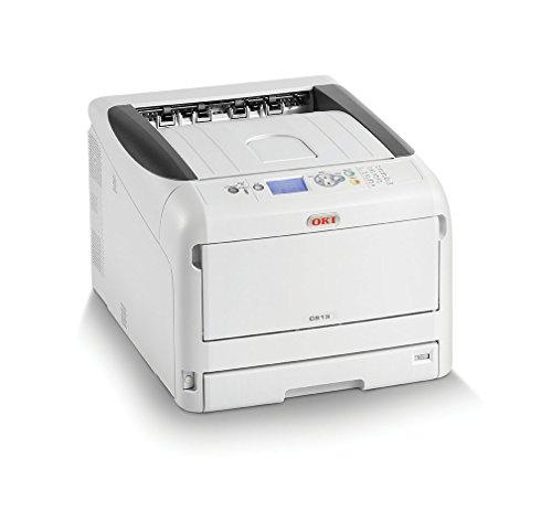 OKI C813n Color 600 x 1200DPI A3 Wifi - Impresora láser (LED, Color, 600 x 1200 DPI, A3, 300 hojas, 23 ppm)