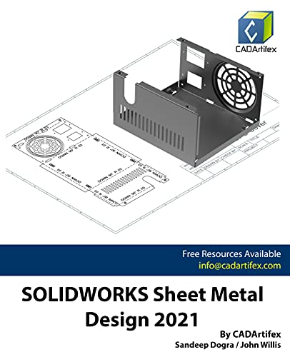 SOLIDWORKS Sheet Metal Design 2021 (English Edition)