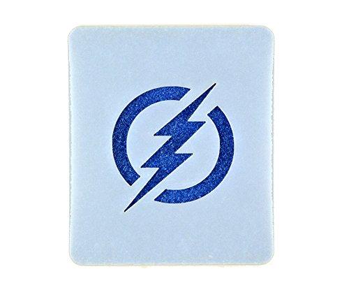 The Flash Logo Face Painting Stencil 7cm x 6cm 190micron Washable Reusable