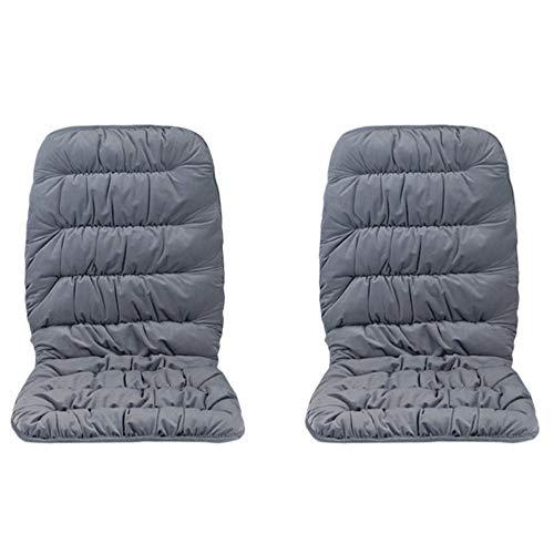 AUEDC Beheizte Sitzkissen, Kristall Velvet verdicken super warm 12V Auto-Sitzheizung mit 3 Stufen-Schalter von...