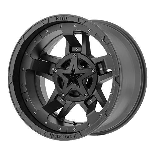 20x10 KMC XD Offroad Series XD827 Rockstar 3 5x127/5x139.7-24 Offset (4.56 inch backspace) 78.3 Hub - Matte Black - XD82721035724N [ Authorized Dealer]