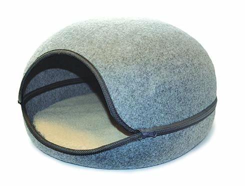 happypet Oslo Pod Cat Bed - Dove Grey
