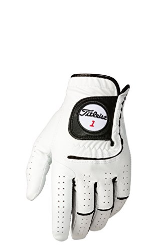 Titleist Players-Flex Womens RH Pearl, White(Large, Worn on Right Hand)