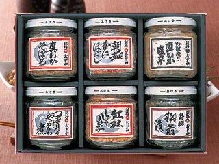 【海産物珍味の老舗】釧路川讃歌 6つの味(化粧箱入)【産地おが和】
