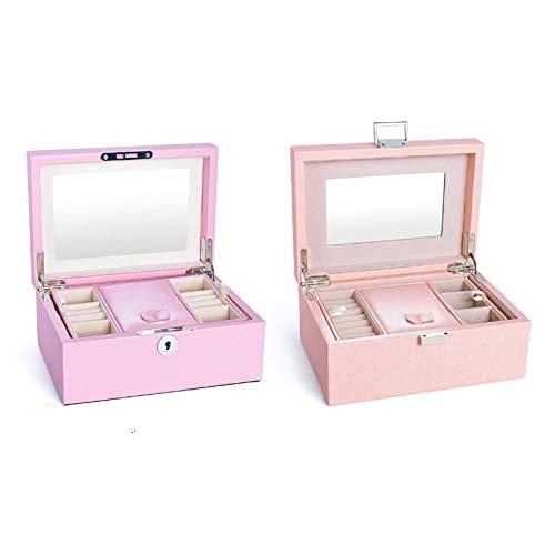 llv La pequeña Princesa Europea Reisen koreanische Claw Tash ohring Ring Ring Kleine aufbewahrungsbox f ür Frauen Urbanjewelrybox