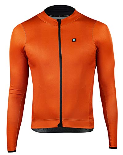 Herren Signature³ Radtrikot L/S Electric Rust Xl