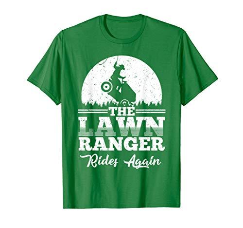 The Lawn Ranger Rides Again Shirt | Cute Lawn Caretaker Gift
