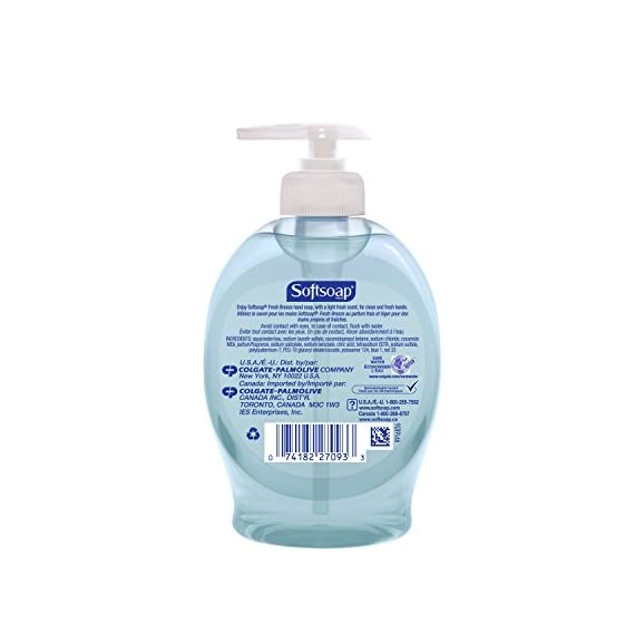 Softsoap Liquid Hand Soap, Fresh Breeze - 7.5 Fluid Ounce (Pack of 6) 6 Light, fresh scented liquid hand soap Wash hands often for good hand hygiene Rich lathering soap that leaves hands feeling soft