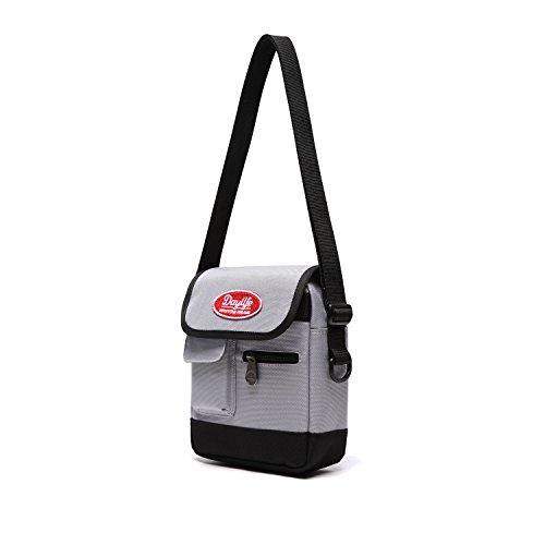 【日本正規代理店品】DAYLIFE MINIMI CROSS BAG ミニミクロースバッグ 斜め掛け クロスバッグ ショルダーバッグ かわいい 女子高生 JK 旅行バッグ (アッシュグレー)