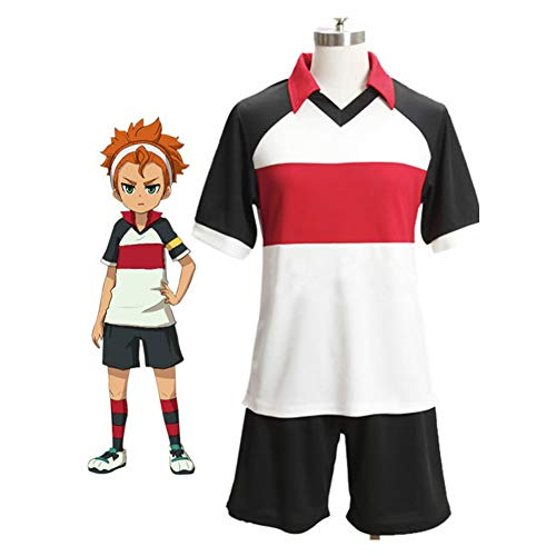 GGOODD Anime Inazuma Eleven Disfraz de Cosplay Fiesta de Halloween Club de Ftbol Ropa de Ftbol para Hombres Jersey Uniforme para Ropa Deportiva S-3XL,XXL