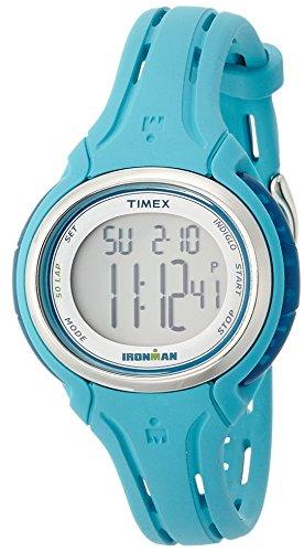 Timex Ironman Sleek 50-Lap Mid-Size Watch - Turquois
