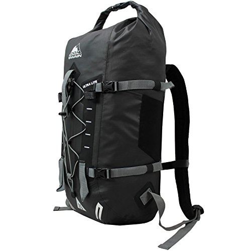 Cox Swain 25L Rucksack Mason Ultralite - wasserdichter Outdoor Packsack für Fahrrad, Motorrad etc, Colour: Dark Grey/Black