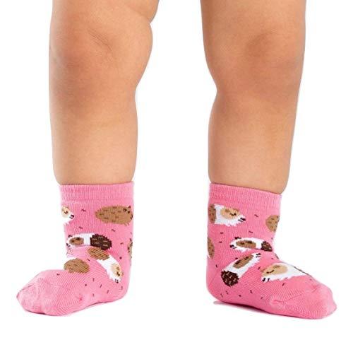 Sock It to Me, Guinea Piggin' Around, Toddler Crew Socks, Guinea Pig Socks