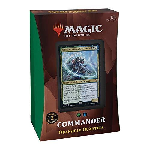 MTG Strixhaven: Escola de Magos - Commander Deck Quantum Quandrix - Português BR
