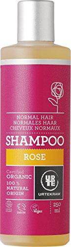 Urtekram Rose Shampoo Bio, normales Haar, 250 ml