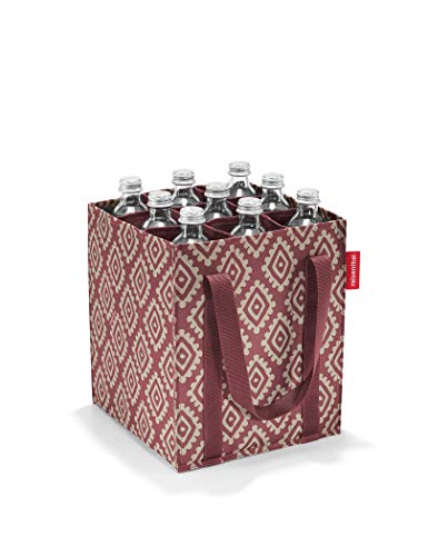 reisenthel Flaschenträger bottlebag Flaschentasche (Diamonds Rouge, 1 er Pack)