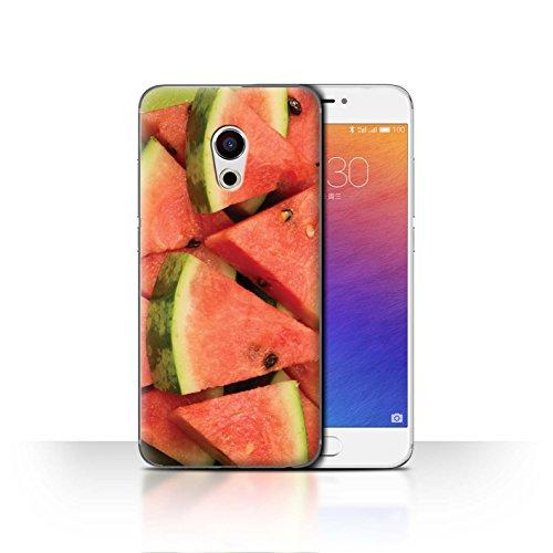 Stuff4 telefoonhoesje/hoes voor Meizu Pro 6 / watermeloen/gesneden ontwerp/sappige fruitcollectie