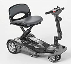 EV Rider TranSport Plus AF, Automatic Folding Mobility Scooter w/Remote, Lithium Battery