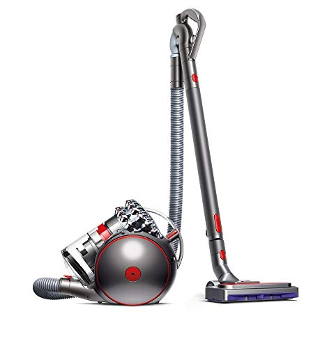 Dyson Cinetic Big Ball Absolute 2 Aspiradora, 700 W, 0.8 litros, 80 Decibelios, Níquel, Rojo