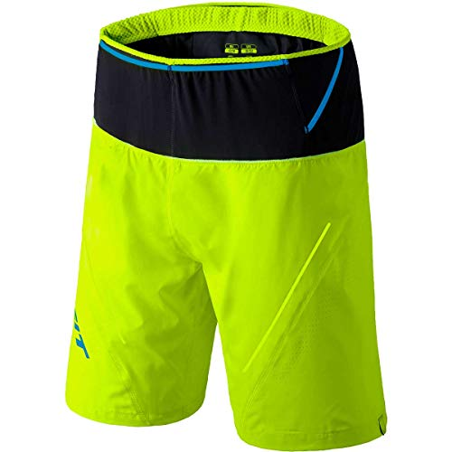 DYNAFIT Ultra 2in1 Shorts Herren Fluo Yellow Größe S 2020 Laufsport Shorts