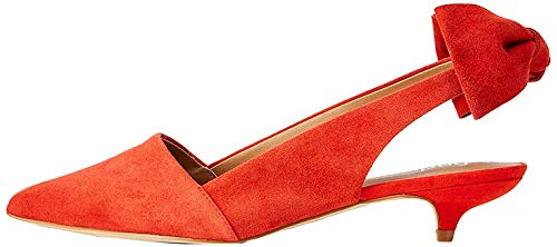 find. Suede Kitten Heel Slingback Pumps, Rot Red), 39 EU