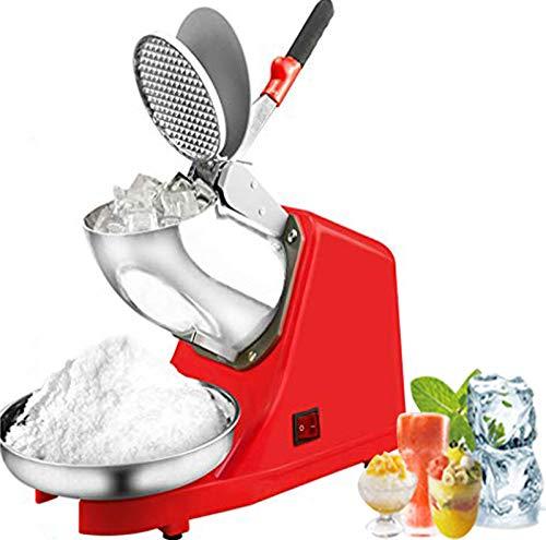 DBMGB Trituradora de Hielo Profesional, Picadora de Hielo para Batidos y Mojito, Maquinas de Granizados con Mango Antideslizante, Hogar y Comercial, 1500r/min