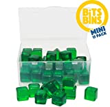 """Board Game Pieces Storage Containers, Organizes Meeples, Dice, Tokens, Cards to Fit Inside The Board Game Box, Includes 15 BitsBins Mini's That Measure 2.125"""" X 1.625"""" X 0.825"""""""