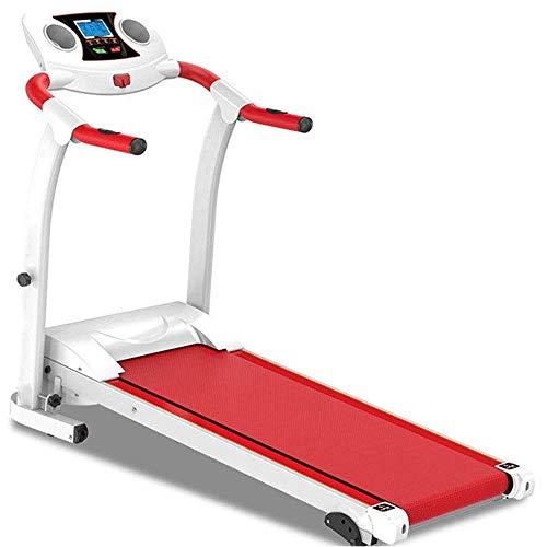 WJFXJQ Caminadora, Fitnessclub Cinta de Correr Plegable motorizado Energía Eléctrica Ejecución de la Aptitud máxima con Load 100kg Que Mantiene Sus músculos y Huesos sanos