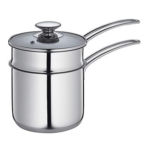 Küchenprofi 23 7060 28 14 Pot d'eau 1,5 l Argent, Acier Inoxydable, 14 cm
