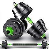 Ownlife PE Material Gewicht Hantel Set Adjustable Cap Gym Barbell Platten for Hantel for...
