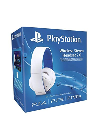 Sony - Auriculares Inalámbricos Stereo, Color Blanco (PS4,...