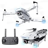4K GPS Drone, with 3 Gimbal Remote HD Camera, XINGRUI S162 RC Drone Live Video FPV 6-Axis Gyroscope Quadcopter with Return Home, Helicopter