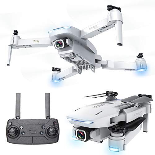 4K GPS Drone, with 3 Gimbal Remote HD Camera, XINGRUI S162 RC Drone Live Video FPV 6-Axis Gyroscope Quadcopter with Return Home, Helicopter with only 1 Battery