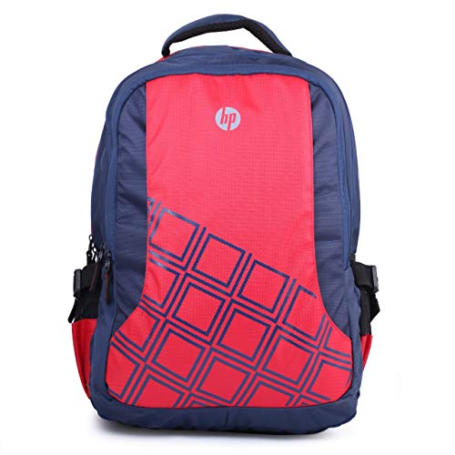 HP 4ZG32PA 15.6-inch Diamond Laptop Backpack (Red)