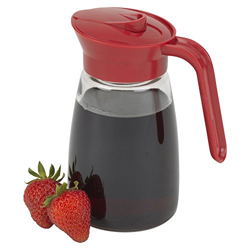 Good Cook Glass Syrup Dispenser, 12 oz, Clear,22118