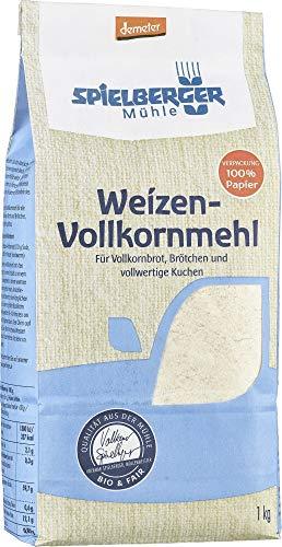 Spielberger Bio Weizenvollkornmehl, demeter (6 x 1 kg)