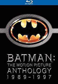 BATMAN-MOTION PICTURE ANTHOLOGY 1989-97 SPECIAL ED (BLU-RAY/4PK) BATMAN-MOTION PICTURE ANTHOLOGY 19