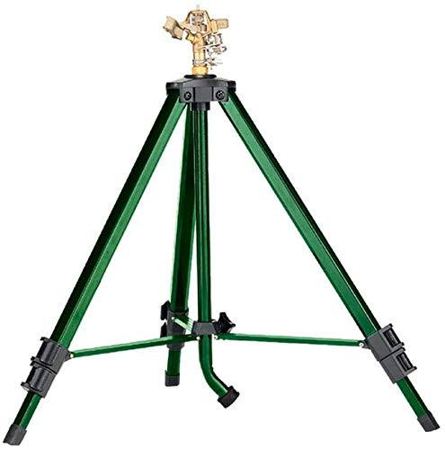 Orbit Heavy Duty Brass Lawn Impact Sprinkler on Tripod Base
