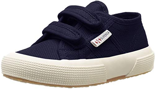 Superga 2750 Jvel Classic, Unisex-Kinder Sneakers, Blau (933), 27 EU