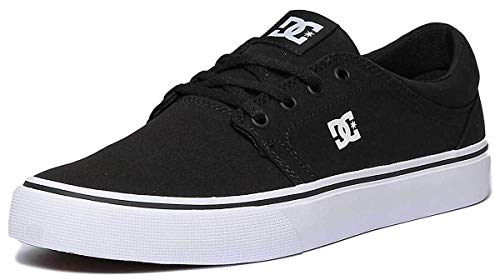 DC TRASE TX M 4DG Herren Sneakers, Schwarz (Black/White BKW), 42 EU