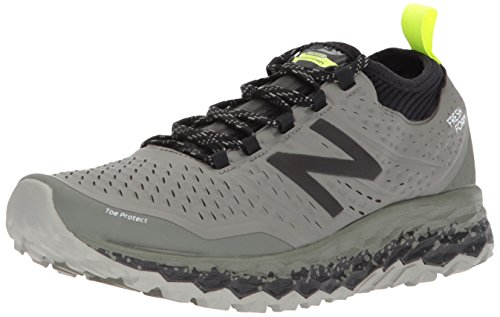 New Balance Fresh Foam Hierro v3, Chaussures de Trail Homme, Vert (Military Foliage Green/Black D3), 43 EU