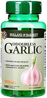 Holland & Barrett Odourless Garlic Vegan 500mg Capsules 180's