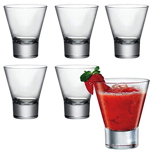 Bormioli Rocco Ypsilon - Juego de 6 vasos de 335 ml, vasos...